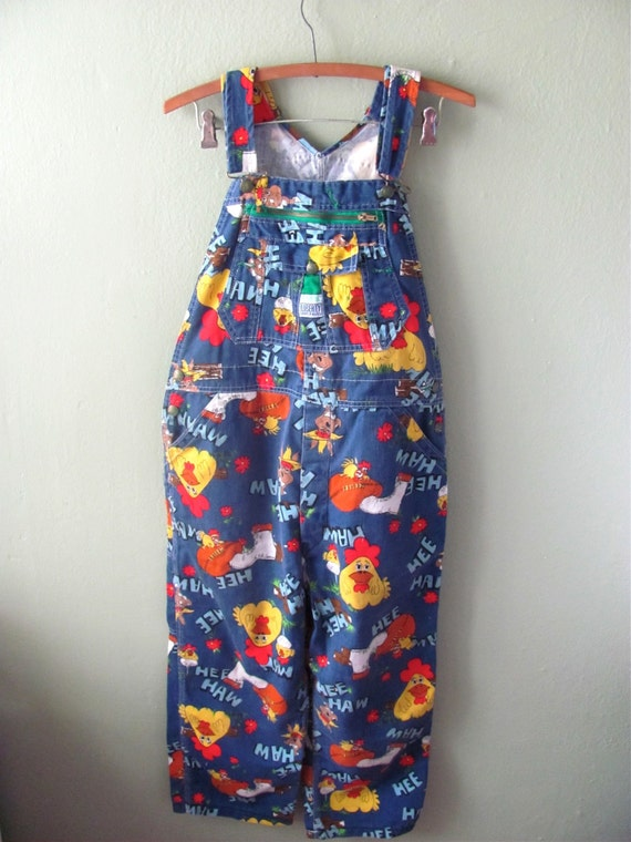 Rare Hee Haw Vintage Overalls Original Laughing By