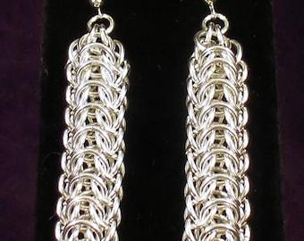 Persian Dragonscale Earrings
