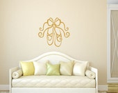 Wall Decal Ballet Slippers Vinyl Wall Decal 22294