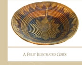 Learn How To Make Native American INDIAN BASKETS with This Rare ILLUSTRATED Tutorial Book