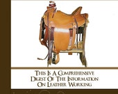 An illustrated Guide Tool To LEATHER WORKING How To Make Leather Goods - Instant Download - Read on Your iPad or Tablet - See Top Reviews