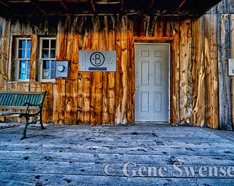 General Store, Cisco, Utah - Ghost Town - Available Sizes  (5x7) (8x12)  (12x18)  (16x24) (20x30) (24x36)