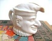 Court jester mini pitcher creamer white