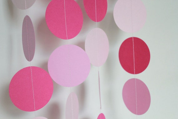 baby shower decorations, paper garland, party supply, birthday, Baby shower invitation