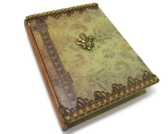 Fleur de Lys Book Box Drawer