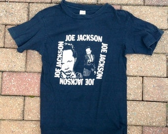 original JOE JACKSON 1970's Tour Shirt - Very Rare - Size Extra Small