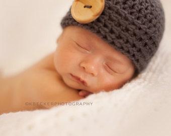 newborn hat, newborn baby hat, newborn boy hat, baby hat, baby boy hat