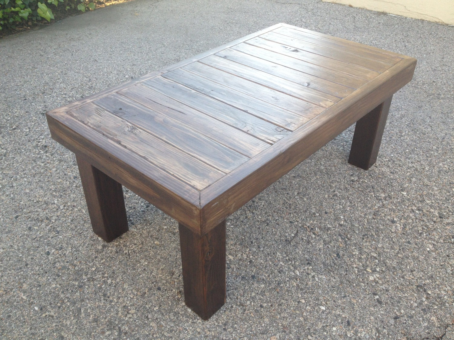 Reclaimed Wood Coffee Table By Localtimber On Etsy