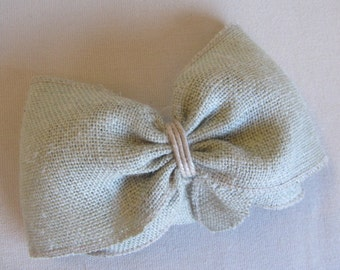 SAGE Burlap Bow extra large/  need more let us know