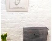 Typewriter art limited edition print - Queen Elizabeth II by Keira Rathbone