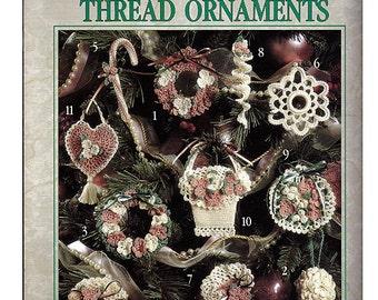 Victorian Thread Ornaments Crochet Pattern Book Leisure Arts 2548