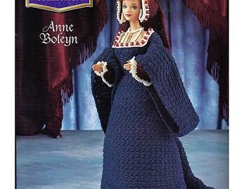 The Royal Court Collection Anne Boleyn Fashion Doll  Crochet Pattern  Annies Attic
