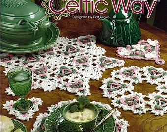 How to Crochet the Celtic Way  Crochet Pattern Book Annies Attic 874053