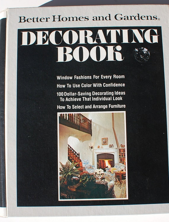 Better Homes And Gardens Decorating Book 1975 Midcentury