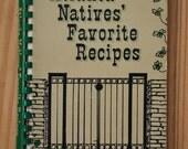 vintage community cookbook, Atlanta Natives Favorite Recipes, Georgia 1975 1976