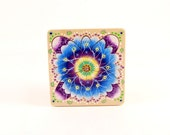 wooden puzzle developmental mandala puzzle for all ages.