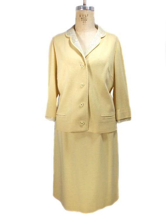 Yellow Skirt Suit 101