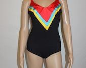 Vintage 70s Sirena Bathing Suit - Swimsuit - One Piece - Swimwear - Size 10
