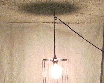 Minimalist, Industrial, loft light, re-purposed lighting, metal, edsion, industrial light, modern lighting