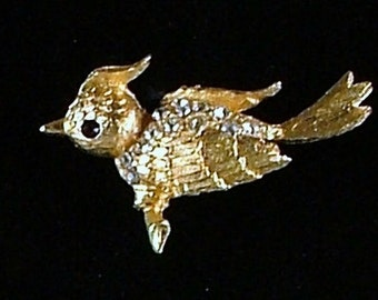 MAMSELLE Bird Brooch ca. 1962-1967