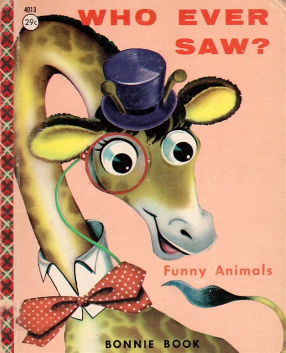 Who Ever Saw - Funny Animals rhymes by Sally Simpson, illustrated by Marion Emmons