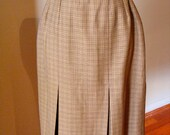 HOLD for Alix - 1940s Repro Houndstooth Skirt - made from 40s pattern