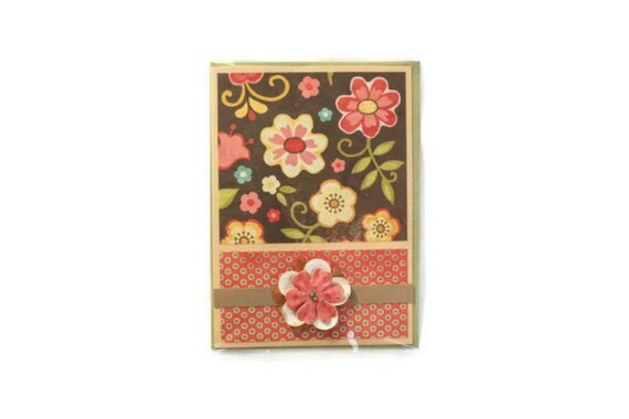 30% off FLORAL Happy MOTHER'S DAY Card