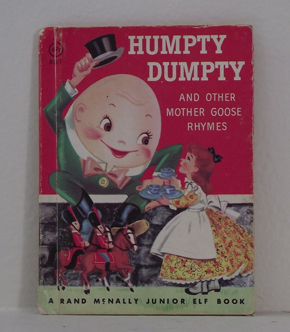 Humpty Dumpty and Other Mother Goose Rhymes Book - Humpty Dumpty Book - Mother Goose Book -  Nursery Rhyme Book