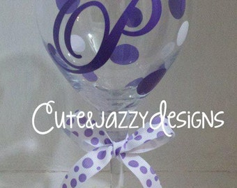 Personalized 20 oz.  Wine Glass