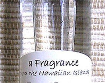 Made in Hawaii Tuberose Perfume Roll On Glass Bottle Fragrance 10ml/1/3oz