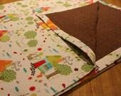 Custom minky blanket for Amber