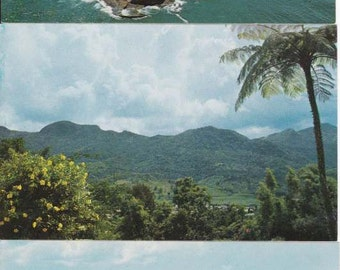VINTAGE Travel Brochure and Postcards - Perfect Condition - Puerto Rico - unique rare find