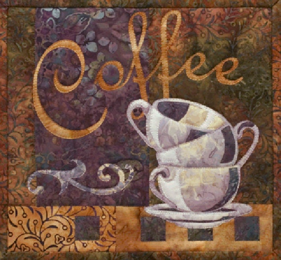 Mckenna Ryan Just Coffee Quilt Pattern Coffee By