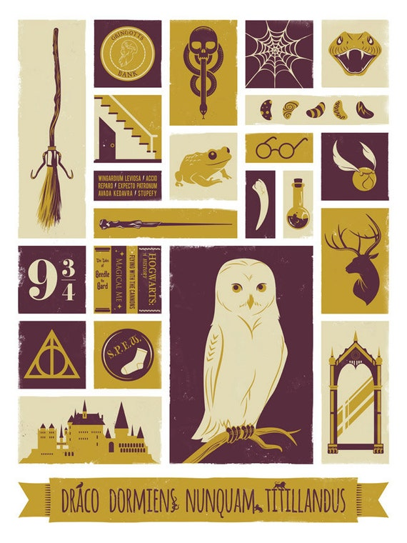 Bewitching image for harry potter printable posters