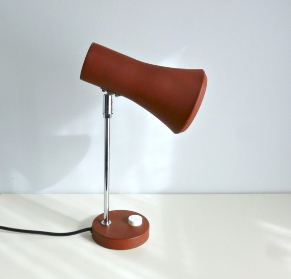 Items Similar To Mid Century Modern Desk Table Lamp