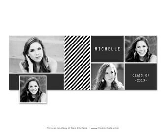 Facebook Timeline Cover Senior Graduation Photoshop Template