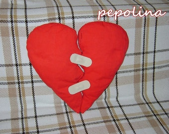 Plasterheart Pillow