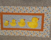 Duck wallhanging to match Ducky Quilt