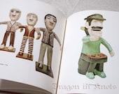 Vintage Book - American Folk Art Dolls - Vivolo
