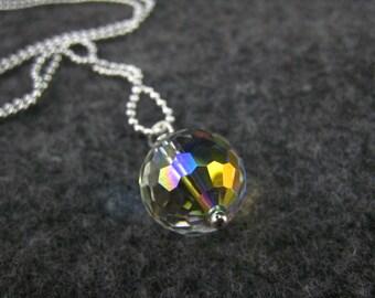 Swarovski Crystal Ball Pendant