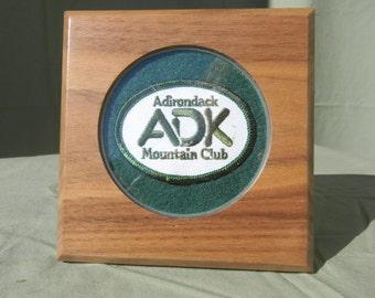 Adirondack ADK Patch Plaque