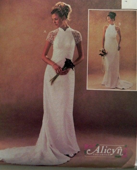 McCall 39 S 3933 Wedding Dress Sewing Pattern Size