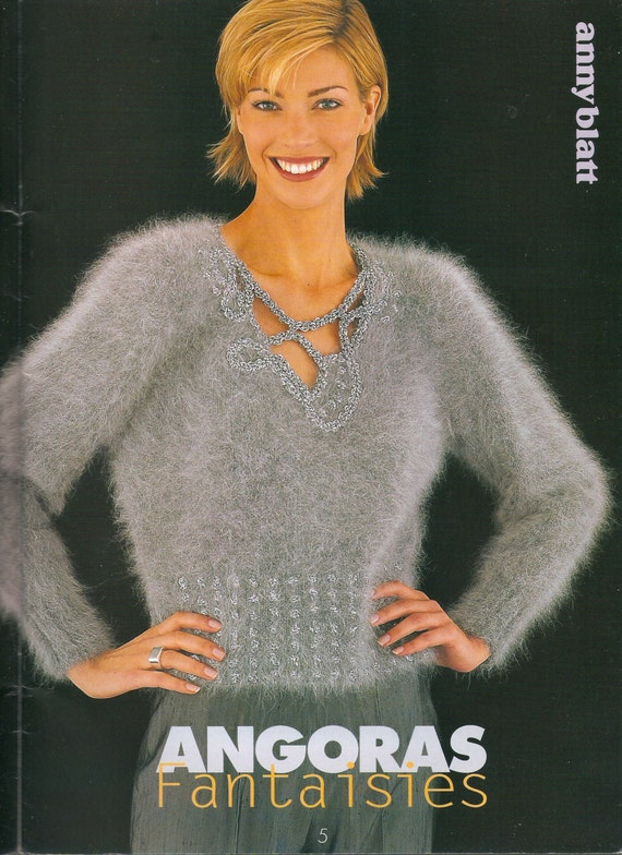 Anny Blatt No. 160 High Fashion Knitting by DejaVuPatterns on Etsy