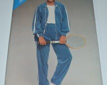 See and Sew 5335 Vintage 80s track suit Sewing Pattern - UNCUT - Sizes 8 10 12