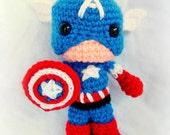 PATTERN Captain USA