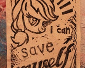 I can save MYSELF Patch featuring Applejack- My Little Pony