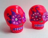 Salt and pepper  sugar skull II