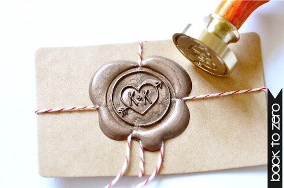Wax Seal Stamp Wedding Invitations B20 Wax Seal Stamp