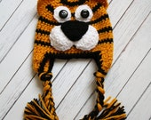 3-6 Month Tiger Hat--Mizzou Edition -- Ready to Ship