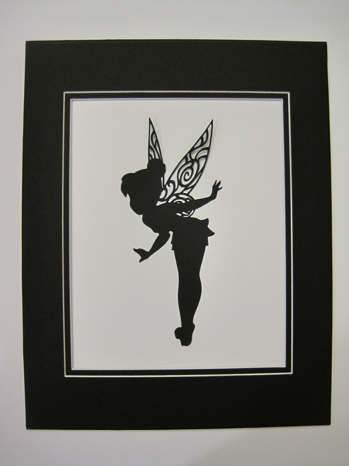 1 8 X 10 Tinkerbell Silhouette